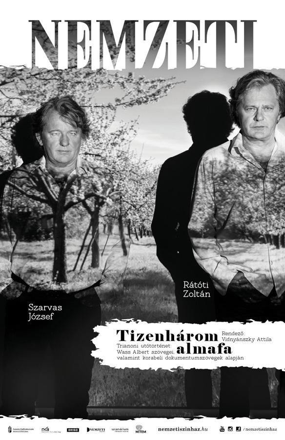 Nemzeti Színház plakátkampány