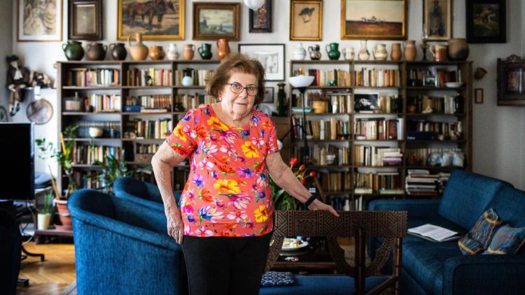 Keleti Éva 90 éves