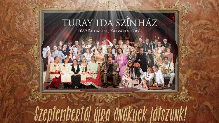 Kihirdette 2021/22-es évadát a Turay Ida Színház